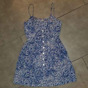 XXI Blue and White Design Dress